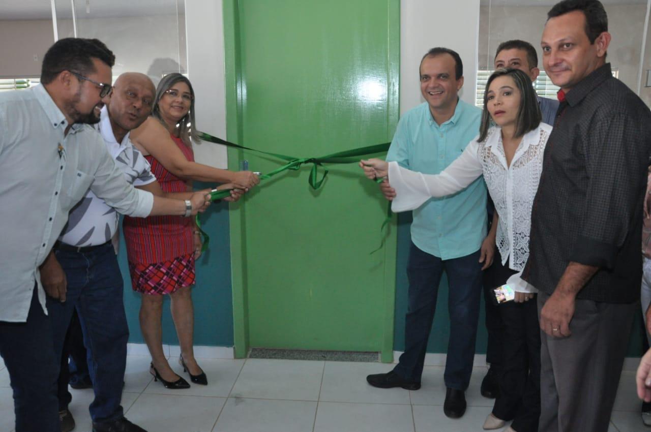 Em Luzimangues, Prefeito Joaquim Maia entrega ampliação da Escola Jacinto Bispo e assina ordem de serviço para construção de uma nova Unidade Escolar