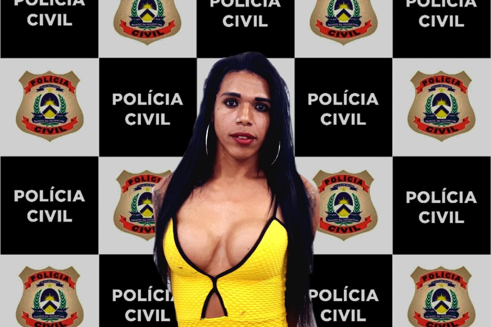 Travesti é presa suspeita de espancar e matar colega em Araguaína