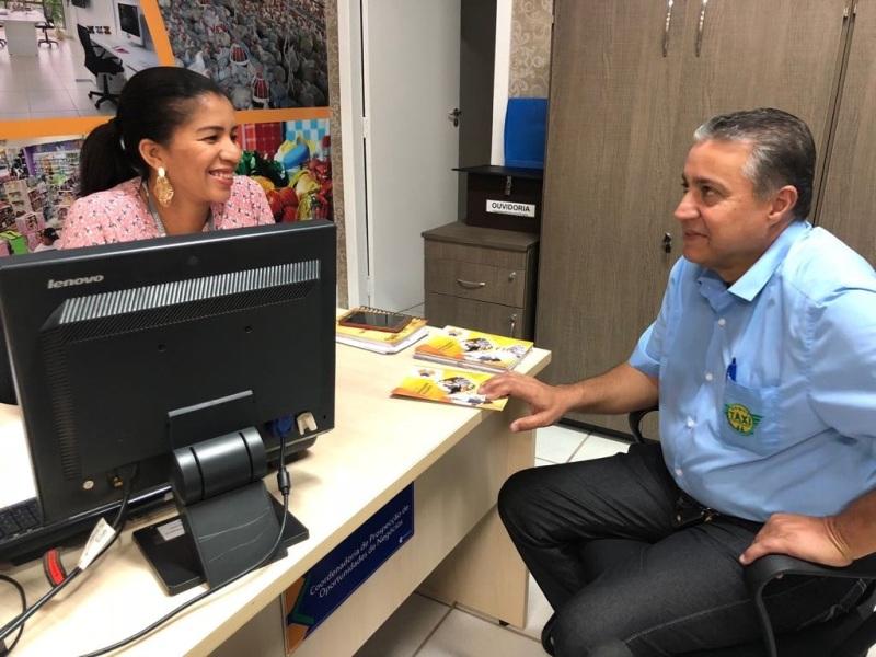 Agência de Fomento financia até 80% do valor de veículos novos para taxistas