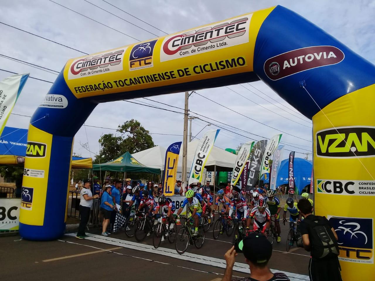 Tocantinenses conquistam duas medalhas de ouro no ciclismo de estrada