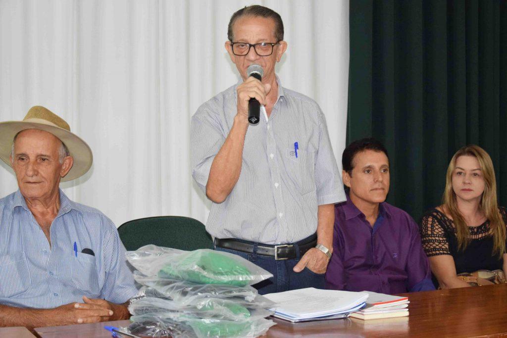 Presidente do Diretório do MDB de Paraíso recebe voto de aplausos da Assembléia Legislativa