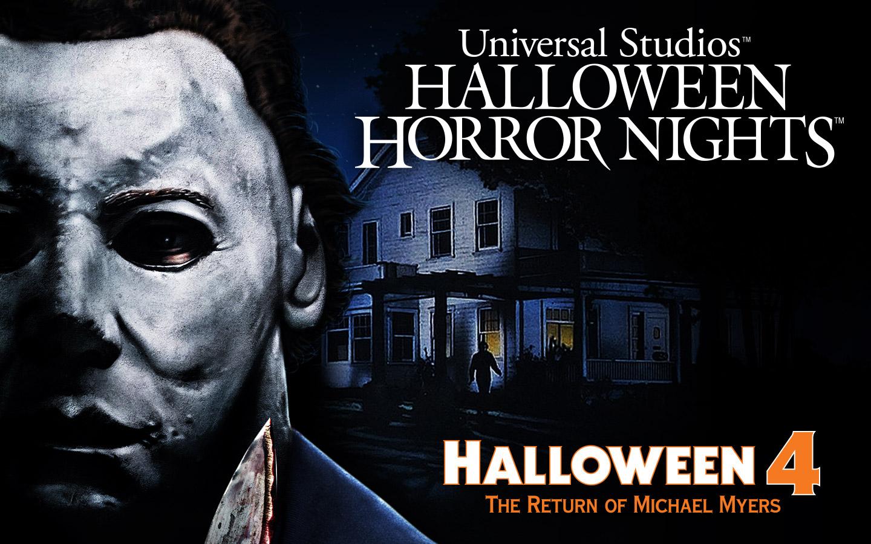 "Halloween Horror Nights terá labirintos novos e aterrorizantes baseados em ""Halloween 4: O Retorno de Michael Myers"""