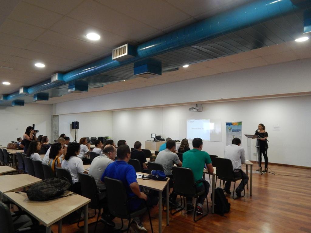Professores e gestores de Pinda participam de nova formação de projeto do IEE