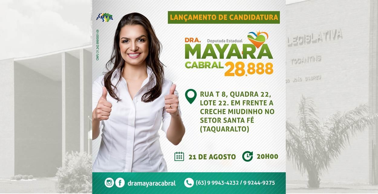 Propostas de Drª Mayara Cabral, candidata a deputada estadual, priorizam Saúde no Tocantins