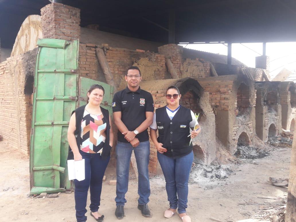 Polícia Civil incinera drogas apreendidas em Lagoa da Confusão