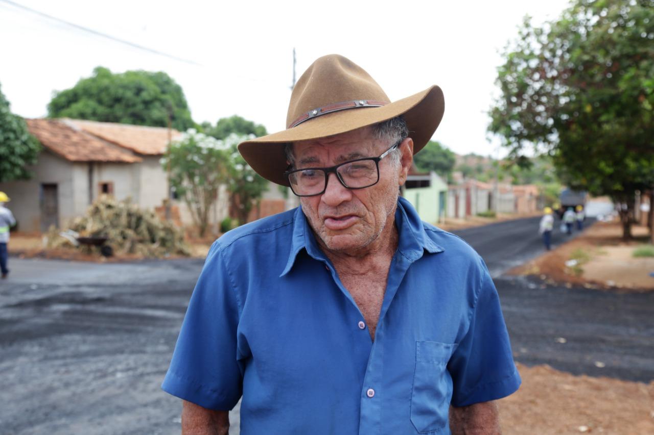 Moradores do Setor Araguaína Sul comemoram chegada do asfalto
