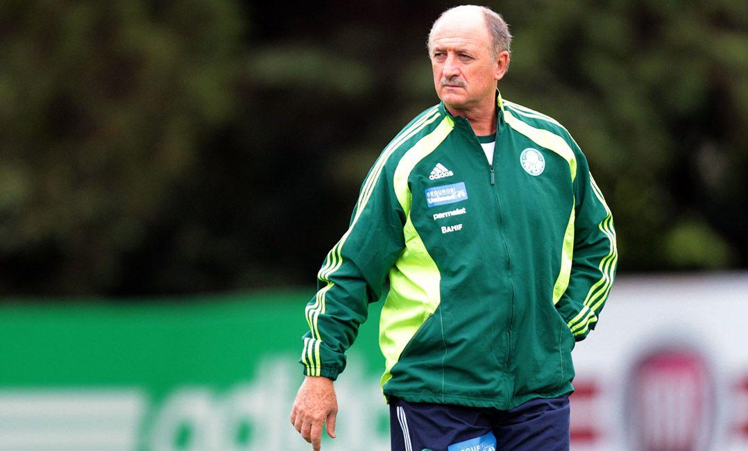 Felipão se apresenta na sexta e dirige Palmeiras contra o América MG