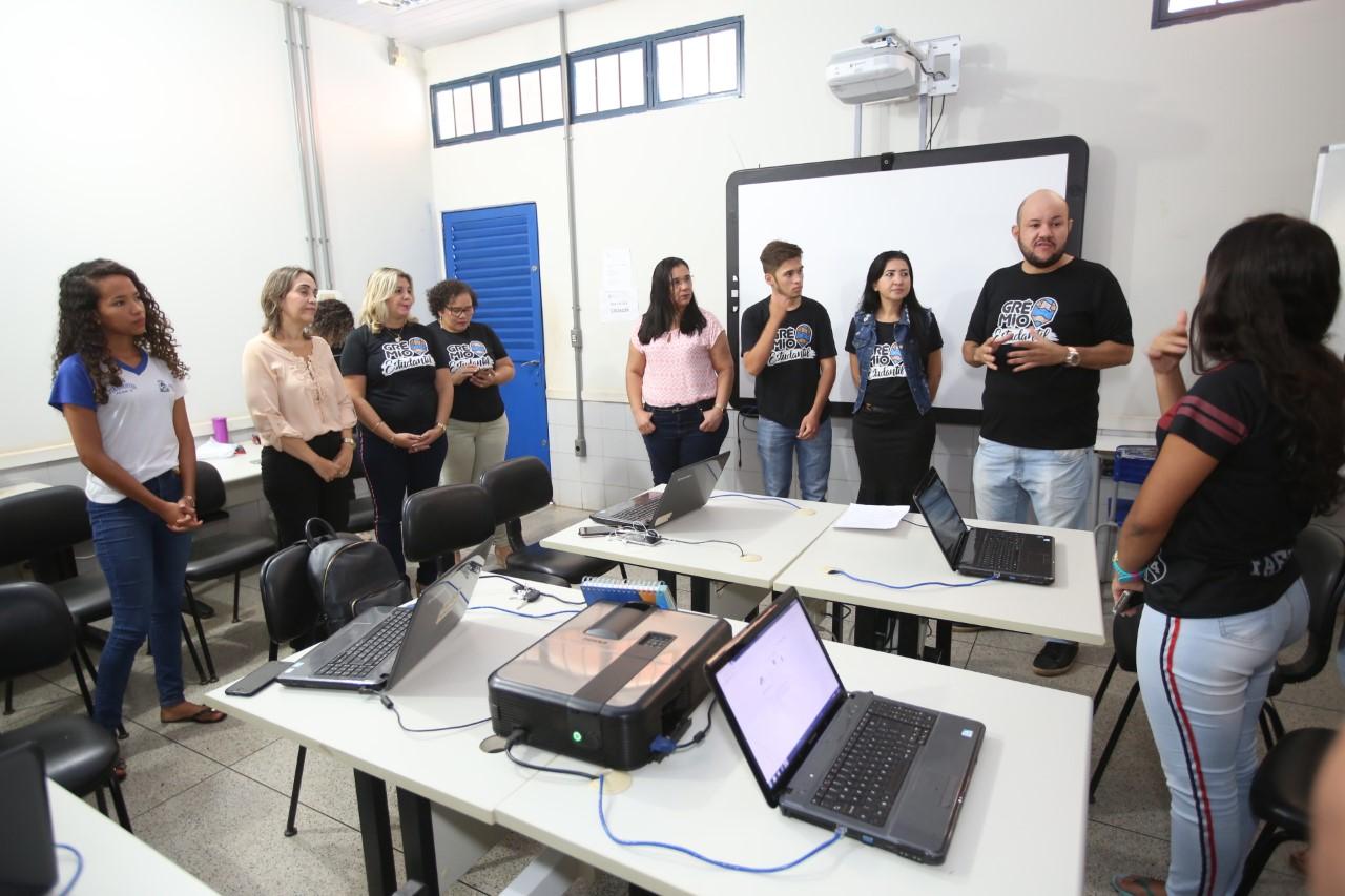 Seduc disponibiliza formação para alunos do Grêmio Estudantil e destaca importância das ações de voluntariado