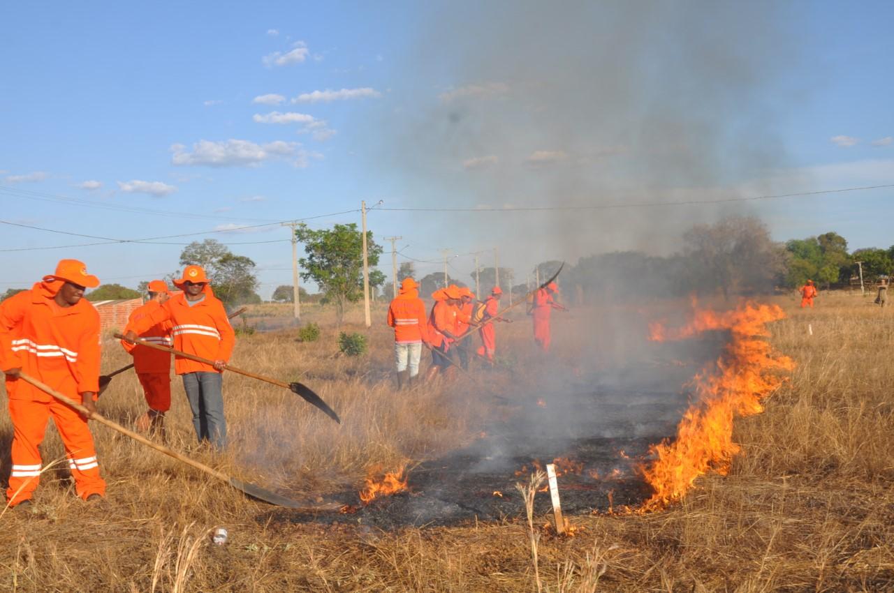 Defesa Civil alerta sobre risco de incêndios durante época de clima seco e ventanias