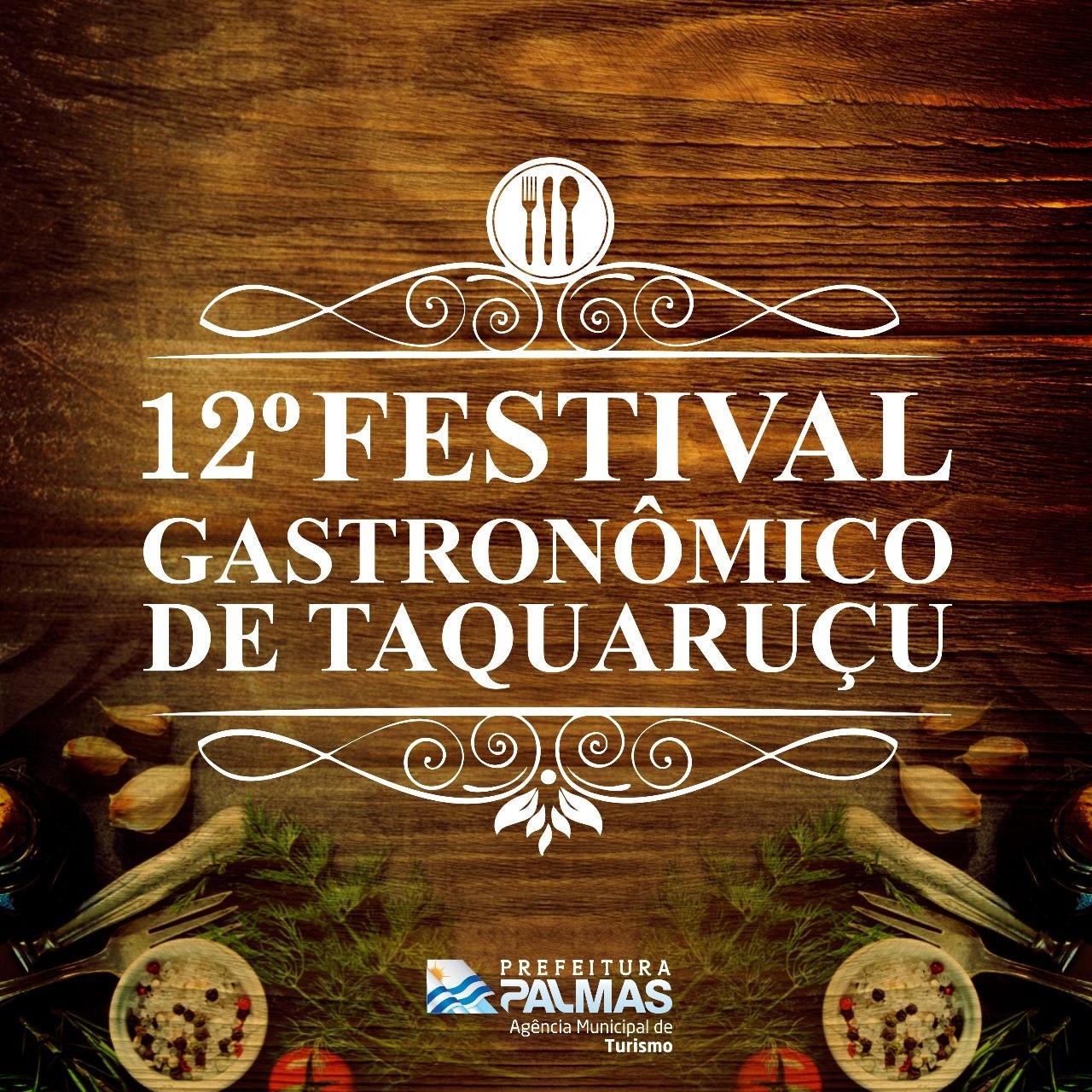 Cursos de capacitação para 12º Festival Gastronômico de Taquaruçu iniciam nesta quarta-feira, 15