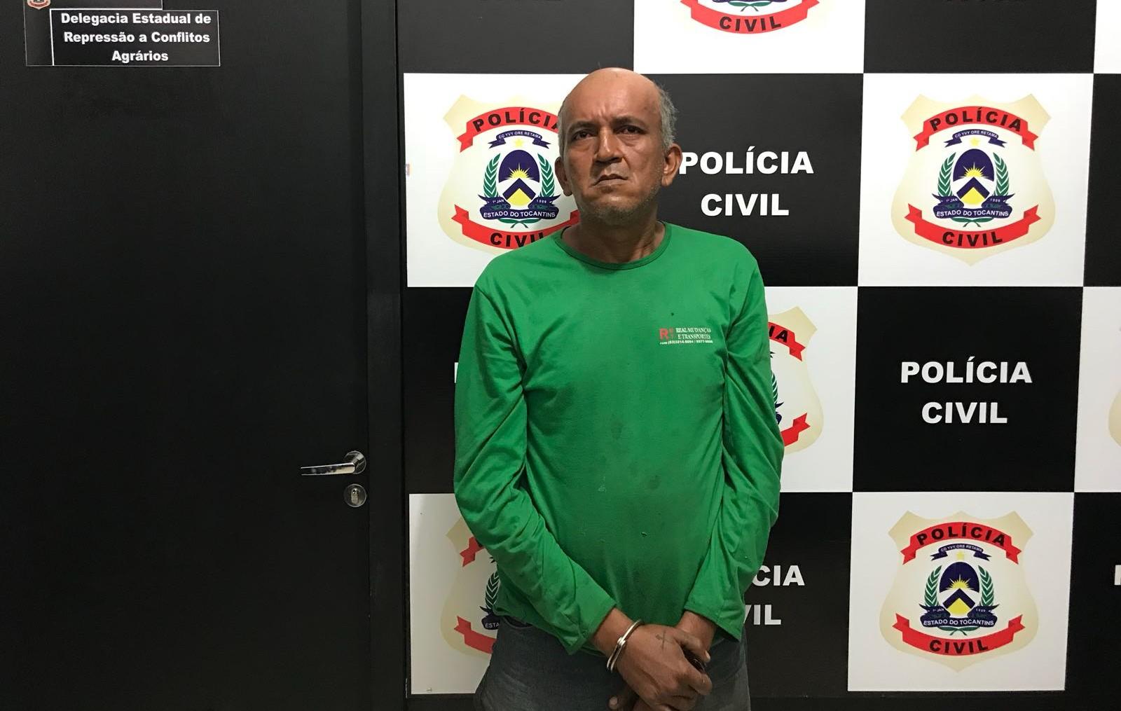 Foragido por estupro é preso durante operação para investigar invasão em loteamento