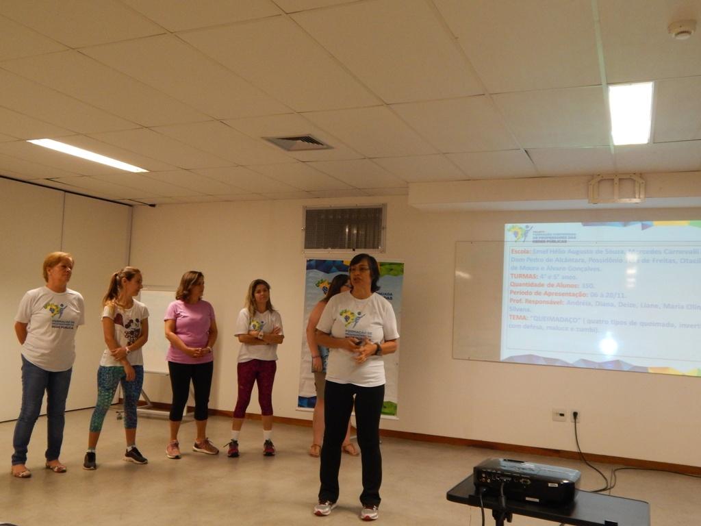 Professores de 6 municípios são capacitados em esporte educacional por projeto do IEE e da Petrobras