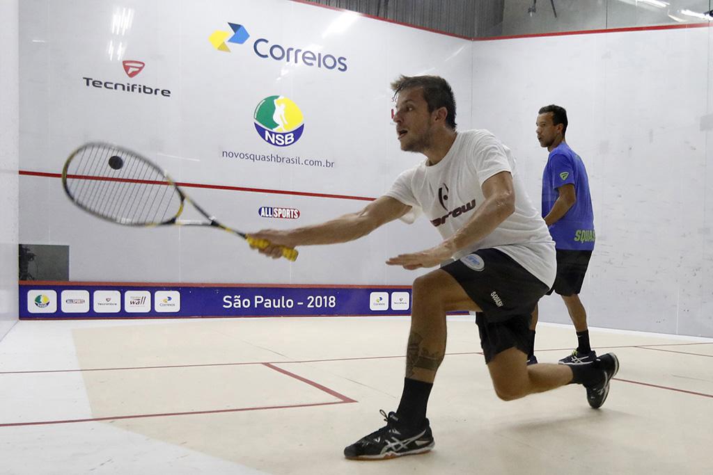 Duelo Brasil e Argentina no Circuito de Squash Profissional – NSB, em Florianópolis