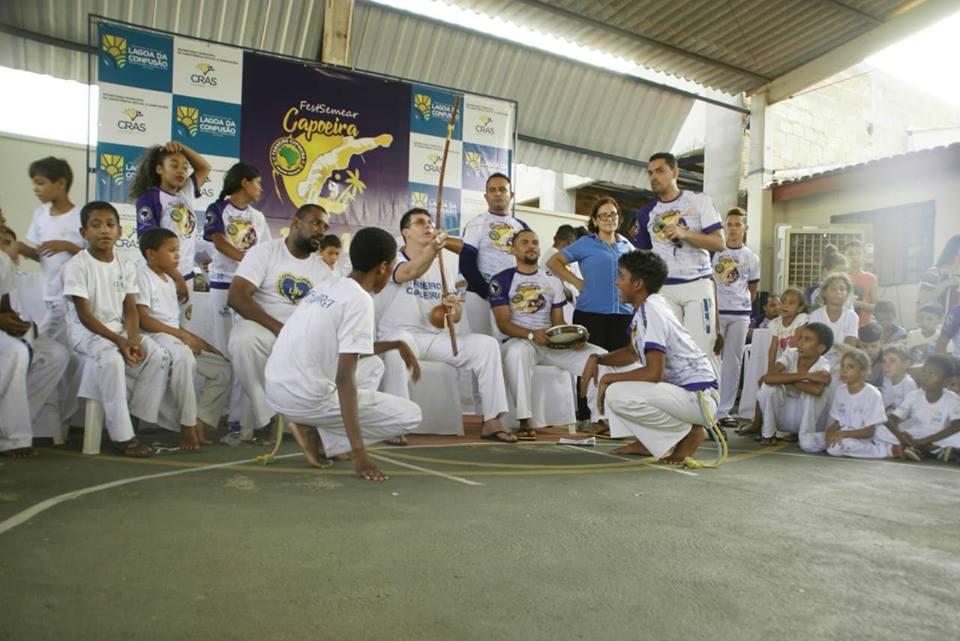 Prefeitura de Lagoa da Confusão promove evento de capoeira para jovens do CRAS