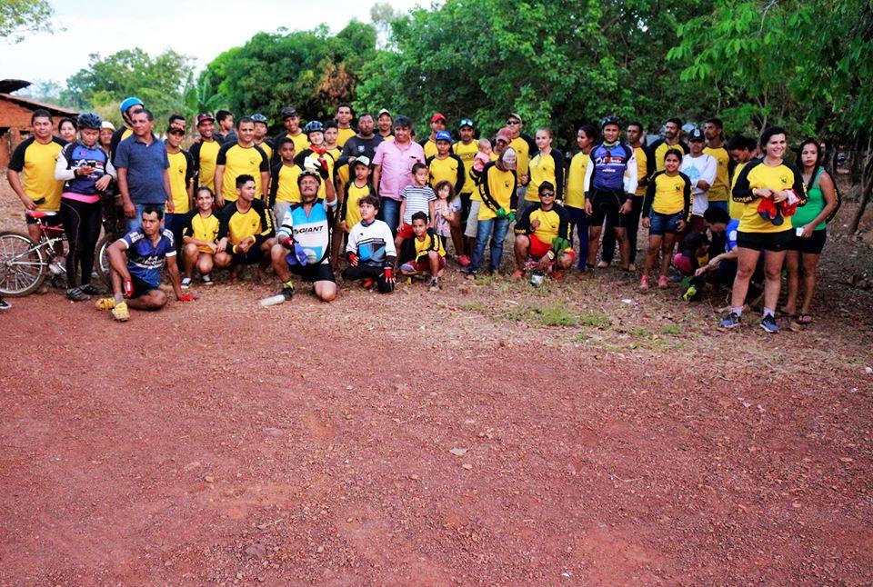 Pedalada Amigos da Bike movimenta povoado de Palminha, em Tocantínia