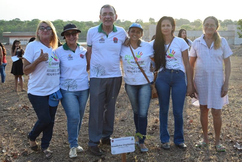 Dia da Árvore é comemorado em Pium (TO) com reflorestamento do Parque das Nascentes