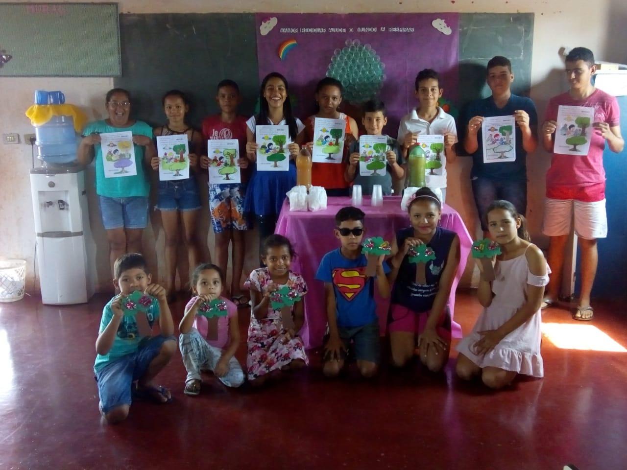 Escolas municipais de Monte Santo (TO) comemoram Dia da Árvore