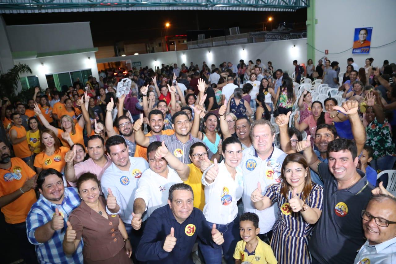 Em reunião em Palmas, Carlesse defende campanha propositiva