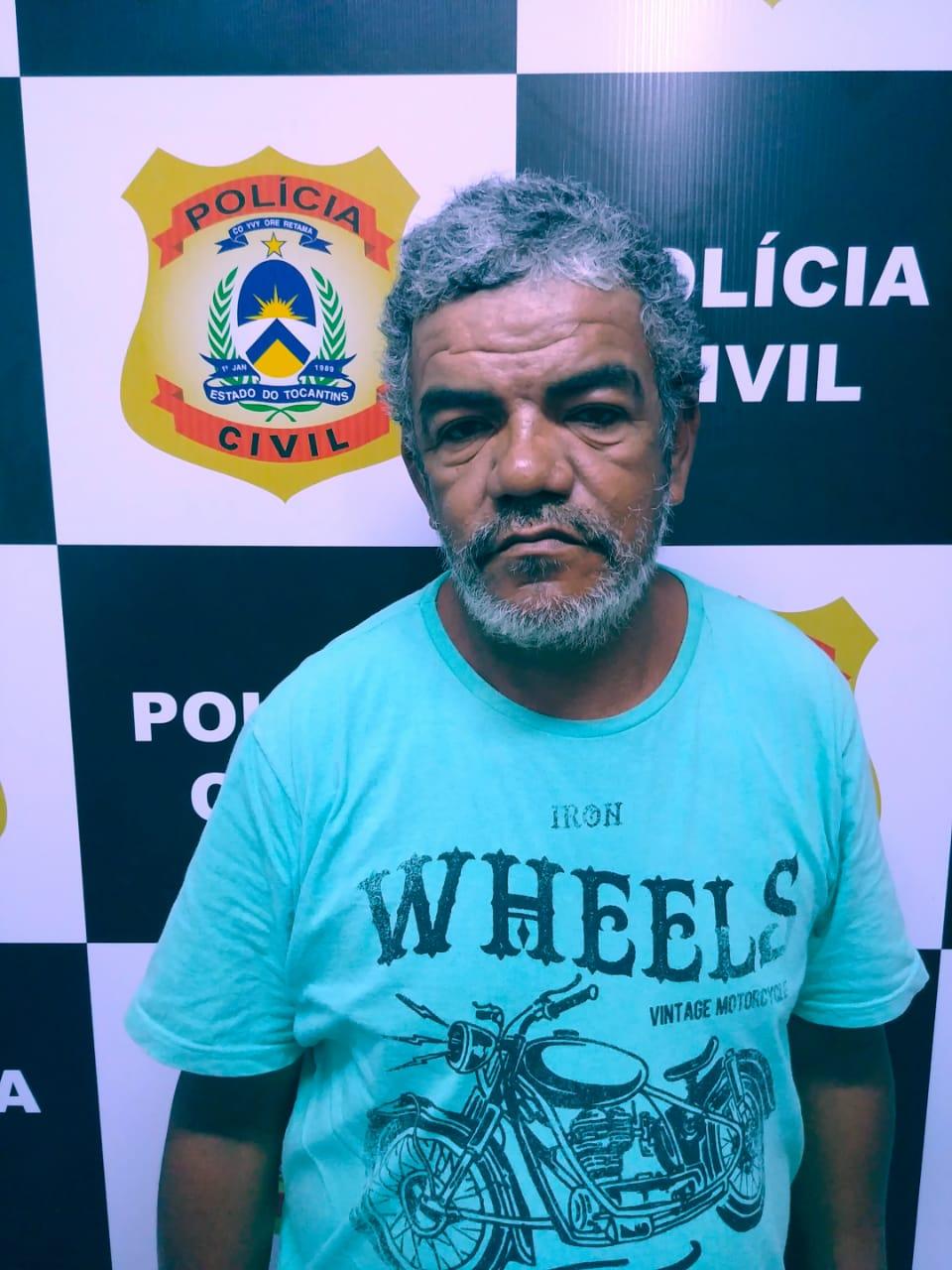 Polícia Civil prende em Lagoa da Confusão suspeito de matar a própria esposa no ano de 2016 em Palmas