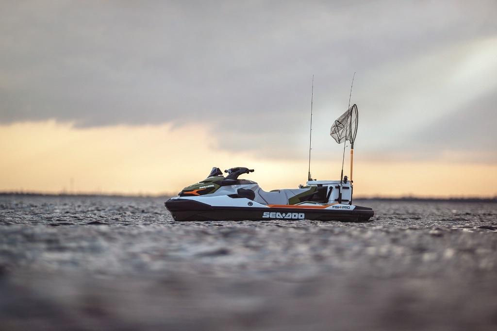 Moto aquática especial para pesca é o lançamento da Sea-Doo no SP Boat Show