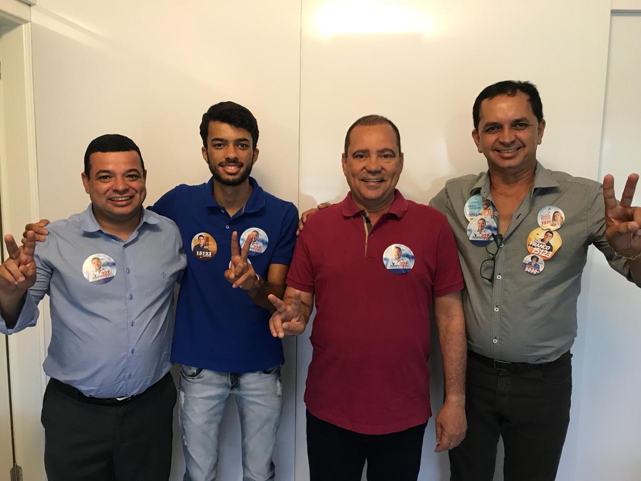 Prefeito de Almas é mais um declarar apoio à reeleição de Vicentinho