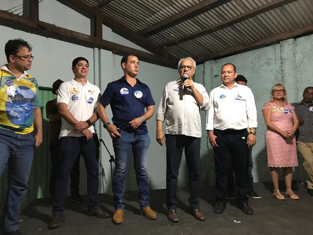 Ex-governador, deputado federal e prefeito de Paraíso (TO), Moisés Avelino declara apoio a Bolsonaro