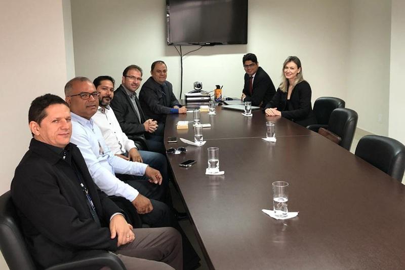 E-Proc/TJTO: Superior Tribunal Militar realiza visita técnica ao TJTO