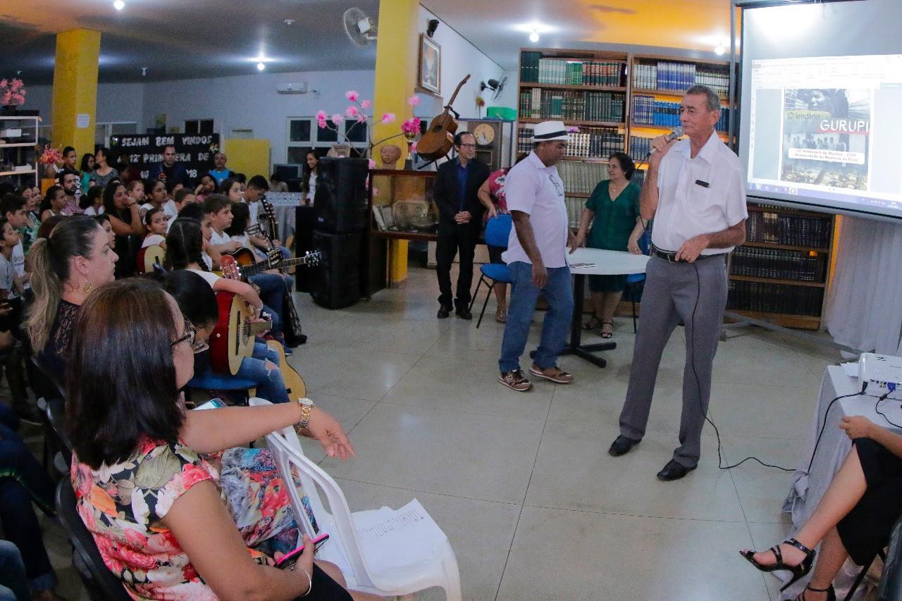 Resgate da história de Gurupi é realizado na abertura da 12ª Primavera dos Museus