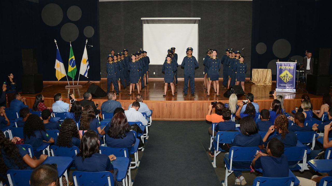 Festival Fetran na ETI Anísio Teixeira ressalta importância de levar a temática trânsito seguro para a escola