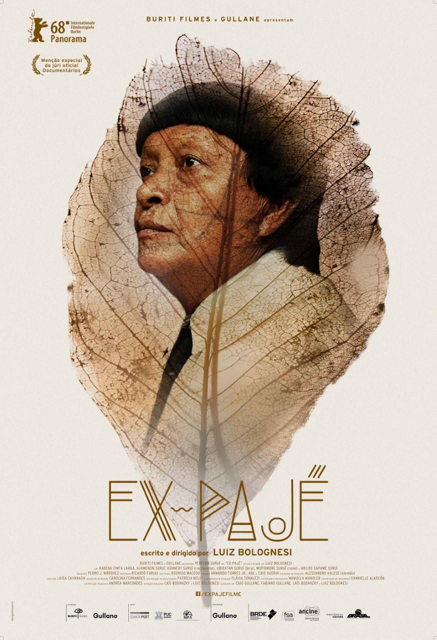 Cineasta Luiz Bolognesi vem a Palmas para sessão especial de seu longa-metragem Ex-Pajé