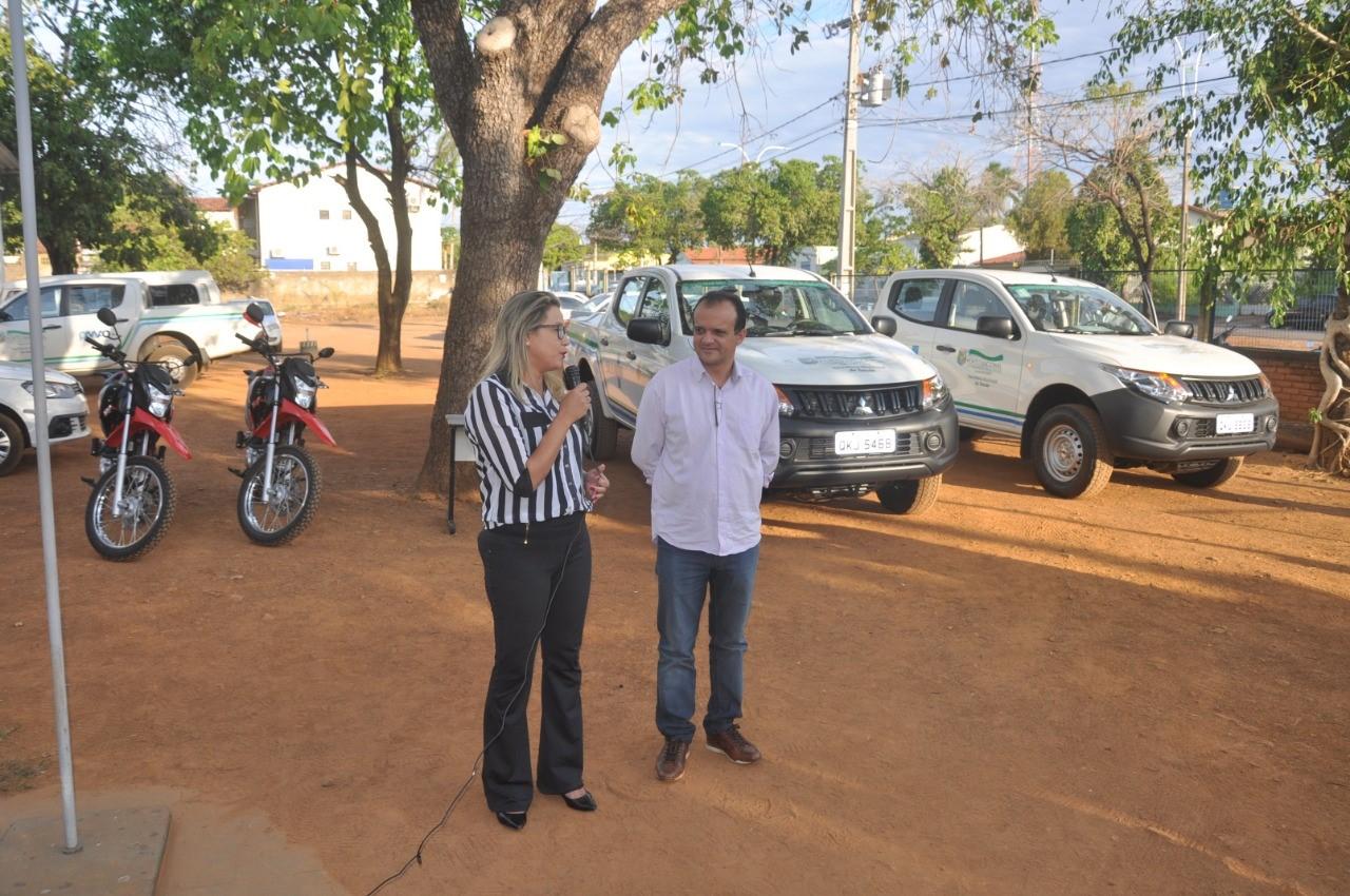Prefeitura de Porto Nacional entrega novos veículos para a Saúde
