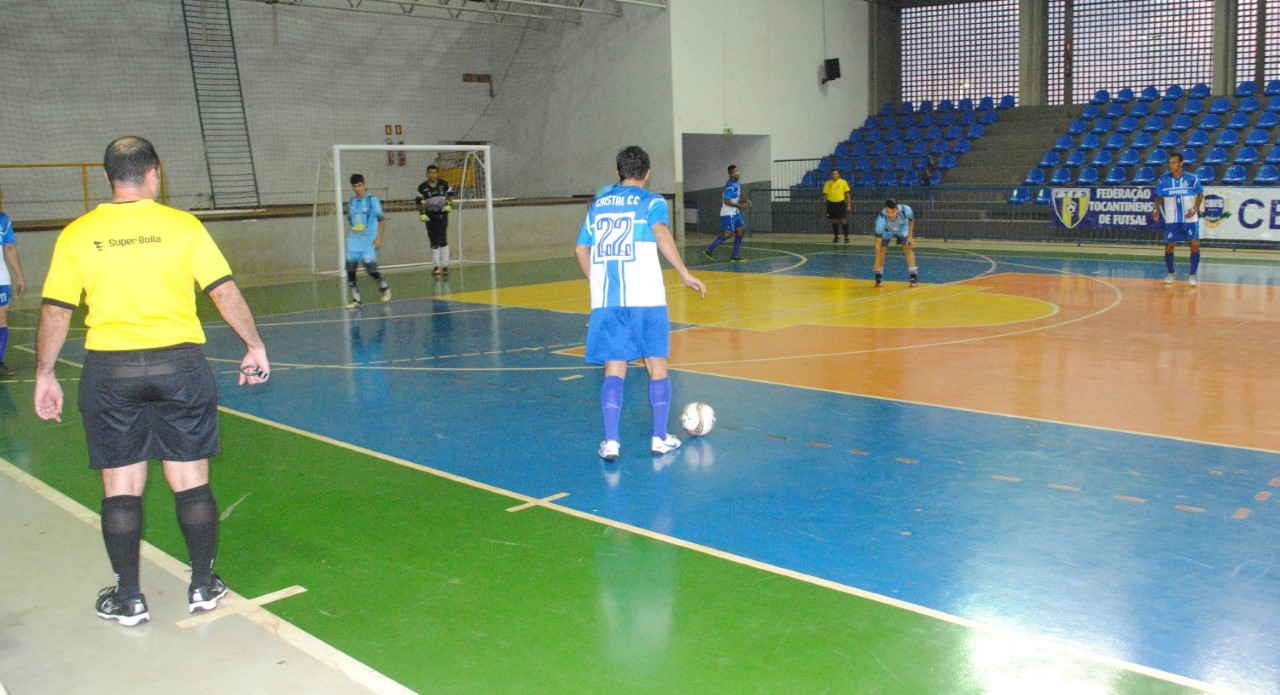 Campeonato Tocantinense de Futsal (Série Ouro 2018) inicia neste sábado
