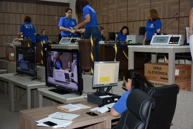 Segundo turno: TRE-TO inicia atividades da Comissão de Auditoria de Funcionamento das Urnas Eletrônicas para as Eleições 2018