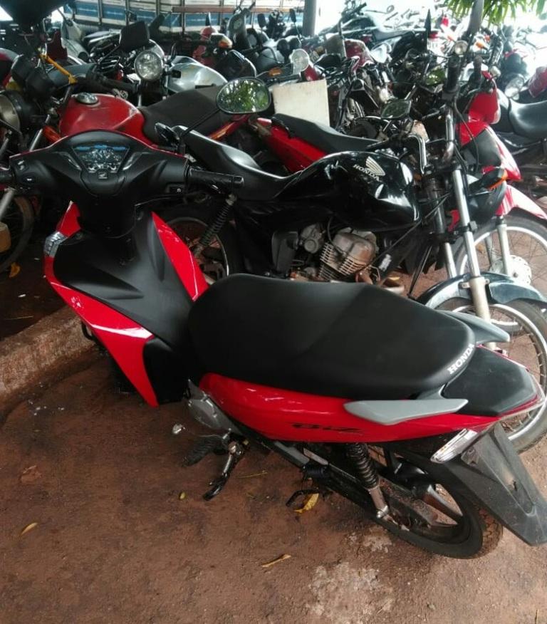 Polícia Militar recupera mais cinco motocicletas roubadas neste fim de semana em Araguaína