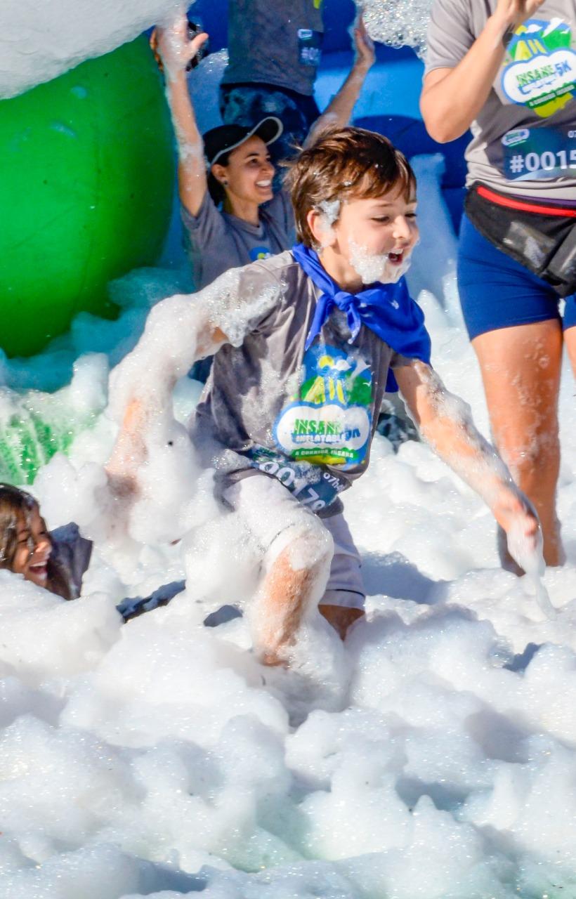 Parque do Ibirapuera recebe a Corrida Insana Action Kids neste sábado (20)