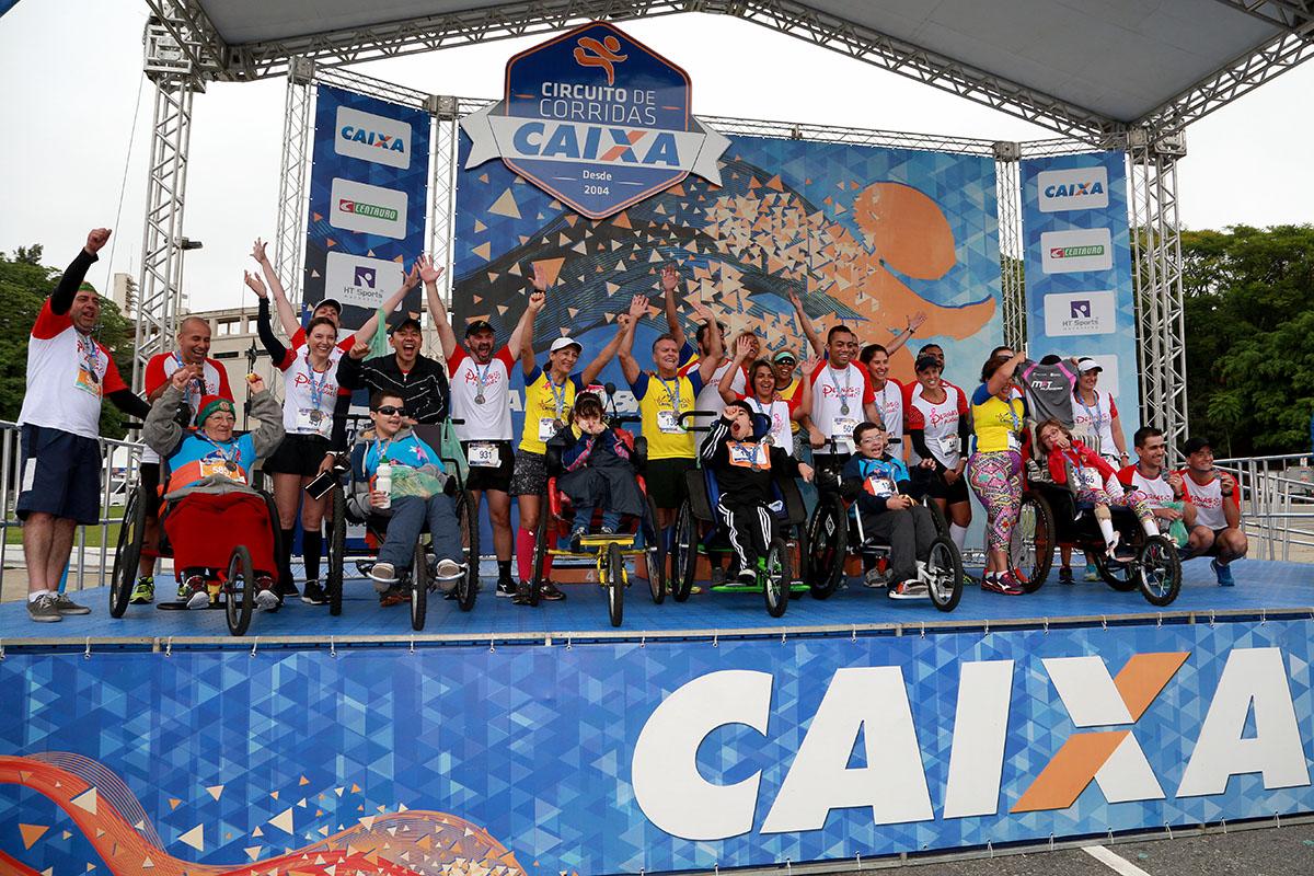 Etapa São Paulo do Circuito CAIXA bate recorde de inscrições nas categorias paralímpicas