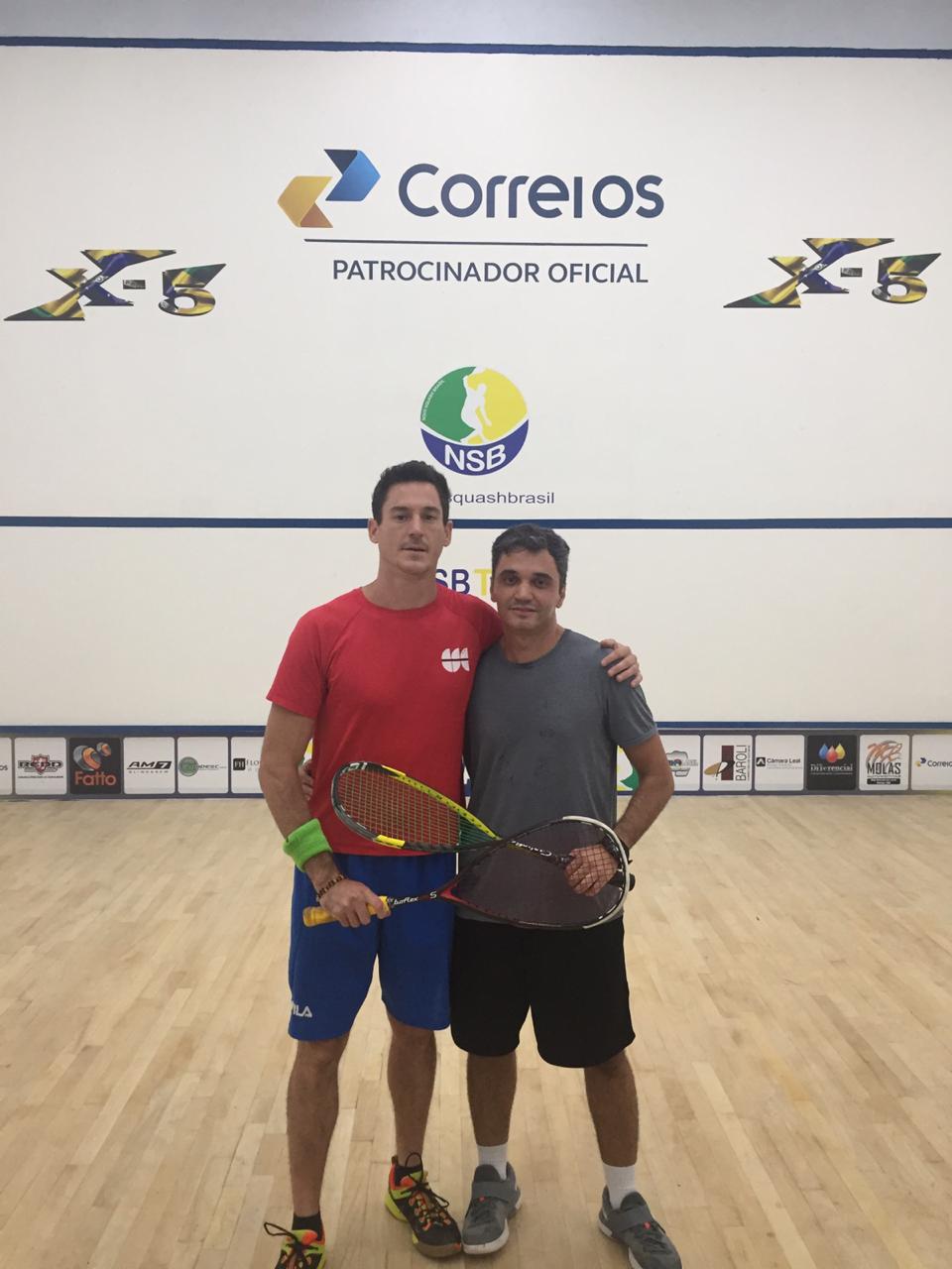 Circuito Correios de Squash – NSB tem quartas de final e semifinal neste sábado em São Paulo
