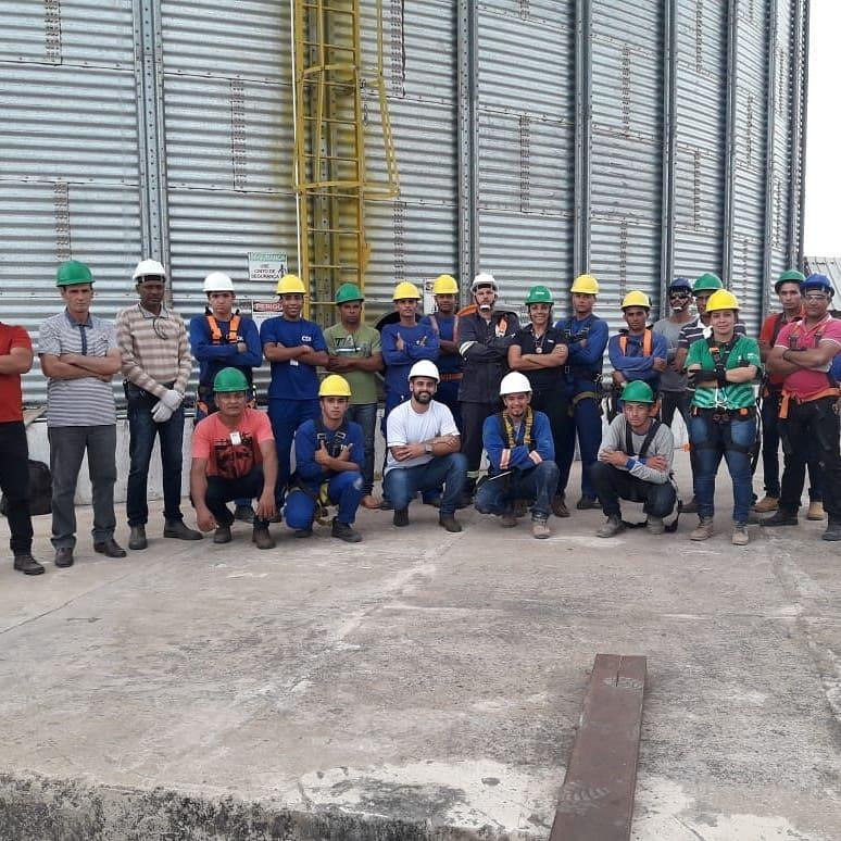 SENAR e parceiros realizam cursos de NR33 e NR35 em Lagoa da confusão