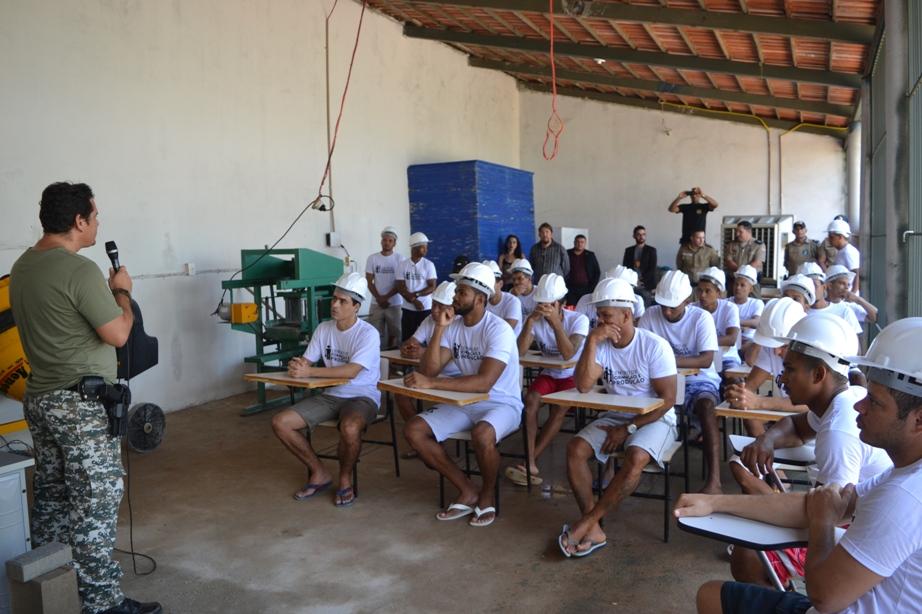 CPP de Paraíso (TO) capacita 60 detentos do regime semi-aberto para o mercado de trabalho