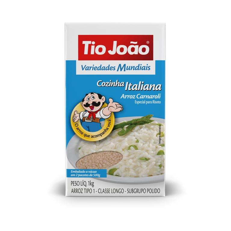 Volta ao mundo com arroz Tio João