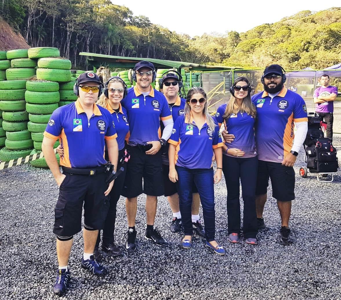 Policiais civis do Tocantins vencem campeonato nacional de rifle