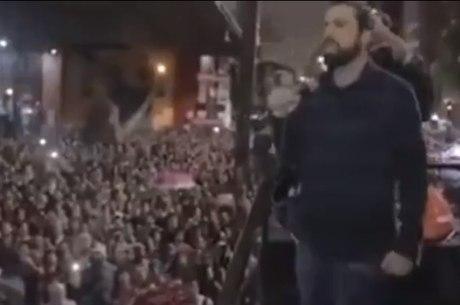 Guilherme Boulos incita invasão à casa de Jair Bolsonaro
