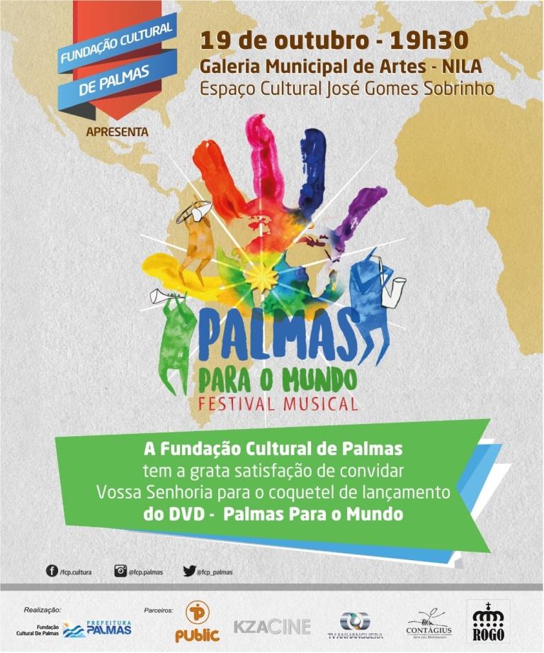 Música e Literatura na programação cultural palmense de 16 a 21 de Outubro