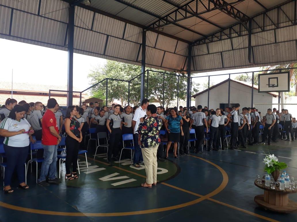 Colégio da Polícia Militar de Araguatins celebra Dia da Consciência Negra com debate sobre a visibilidade do ativismo negro