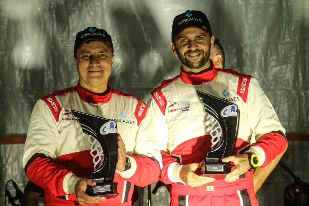 Luiz Facco/Francis Herrero encerram o ano como Vice-Campeões Brasileiros de Rally de Velocidade