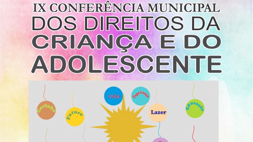 IX Conferência Municipal dos Direitos da Criança e do Adolescente de Palmas será no próximo dia 22, em Palmas