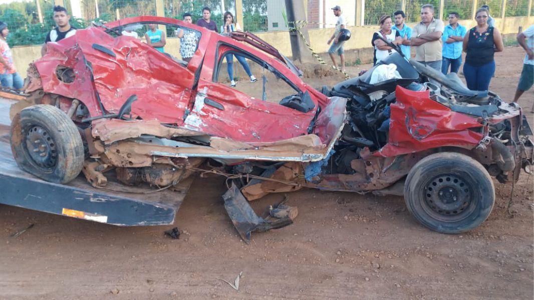 Colisão entre carreta e veículo de passeio na BR-010 deixa quatro mortos no MA