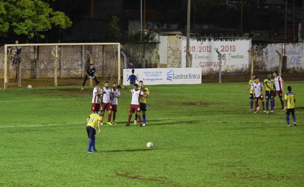 Com vitória elástica Atlético Cerrado vence o Kaburé e assume a liderança do Grupo B