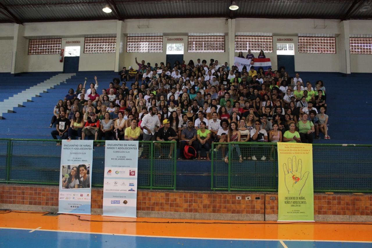 Escola de samba carioca participará de encontro de crianças e adolescentes do Mercosul