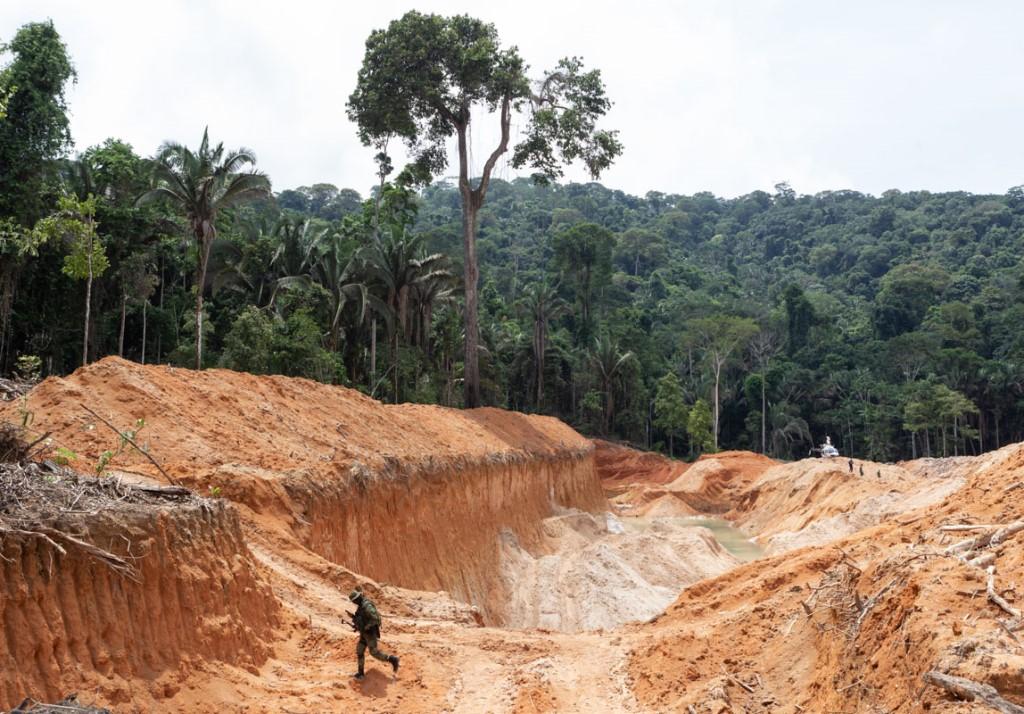 Ibama desativa garimpos ilegais no Pará